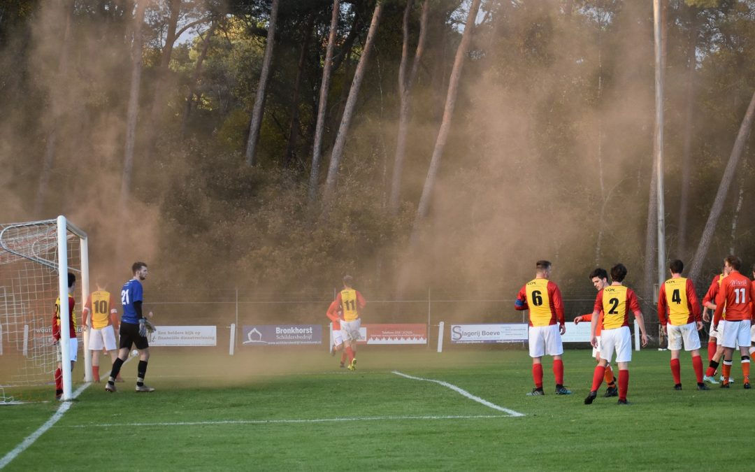 Prins Bernhard 1 – De Veluwse Boys 1 (0-5)