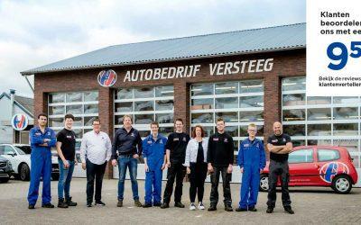 Autobedrijf Versteeg sponsor sv Prins Bernhard